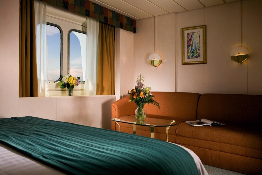 Rhapsody of the Seas Ocean Stateroom windows