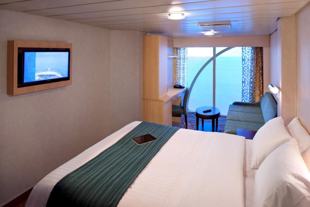 Rhapsody of the Seas Panoramic Ocean stateroom