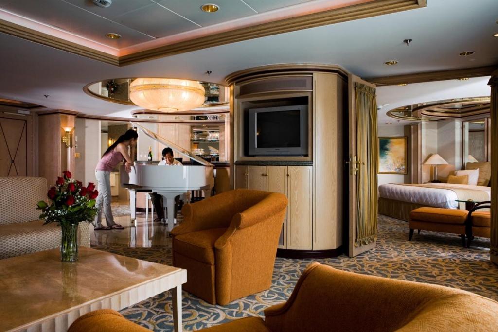 Rhapsody of the Seas Royal Suite