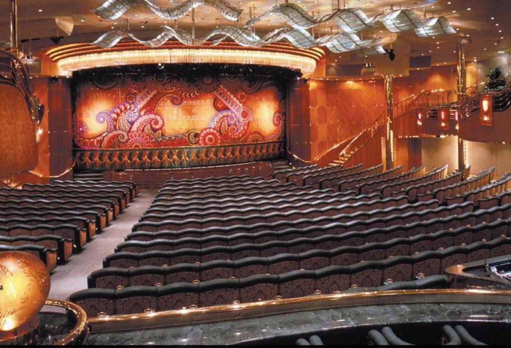 Rhapsody of the Seas Theater