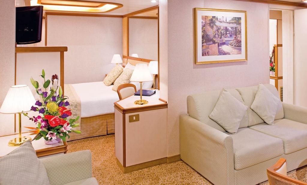 Sea Princess Mini Suite with Balcony