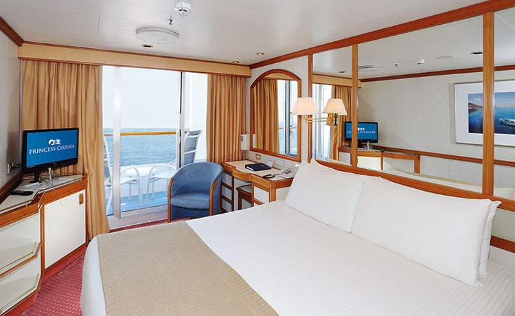 Dawn Princess Balcony stateroom