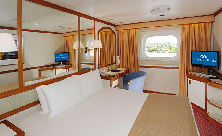 Dawn Princess Oceanview stateroom