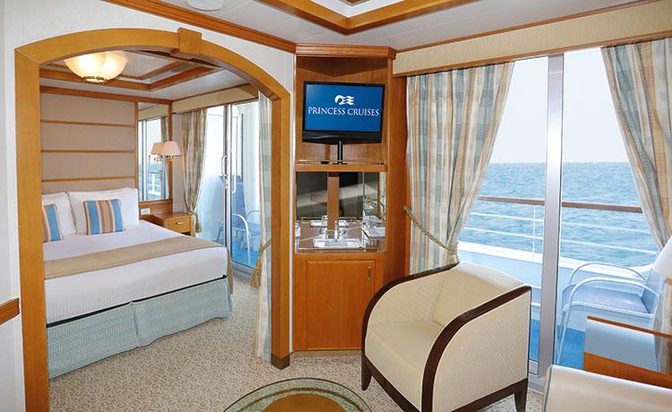 Dawn Princess Premium Mini-Suite with Balcony