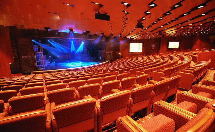 Dawn Princess Theatre