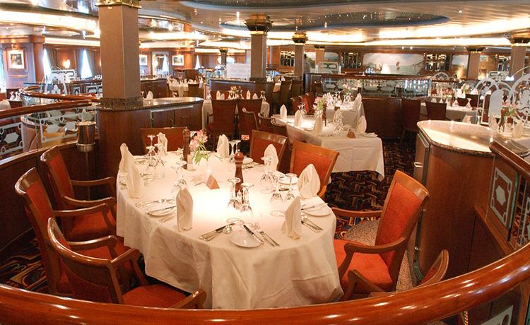 Dawn Princess Venetian restaurant