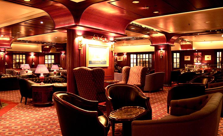 Dawn Princess Wheelhouse Bar