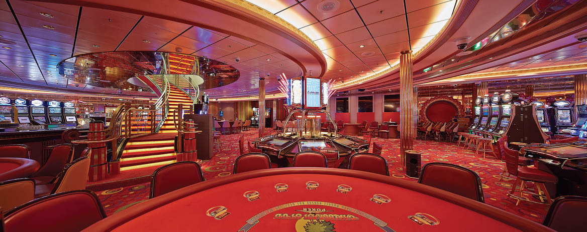 Mariner of the Seas casino gaming room