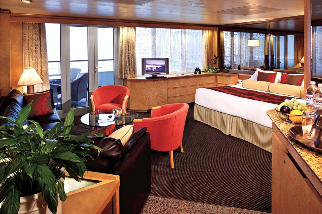Pacific Aria and Eden deluxe balcony suite