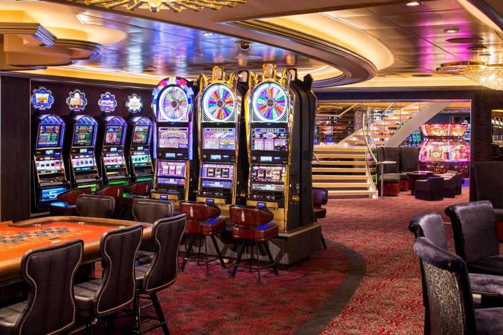Quantum of the Seas slot machines