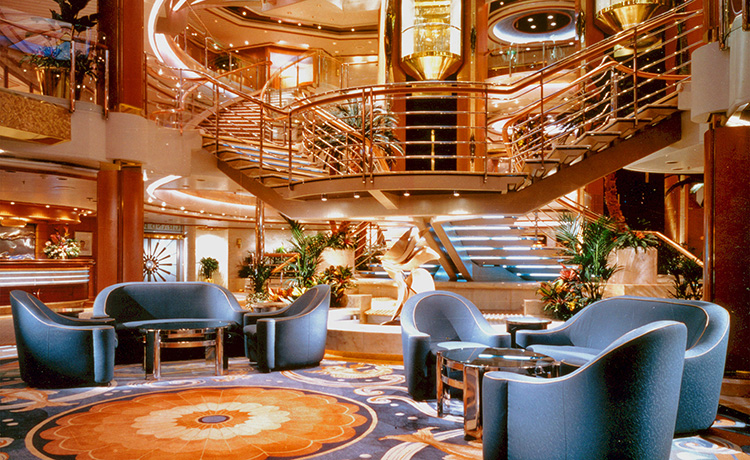 Sun Princess Atrium