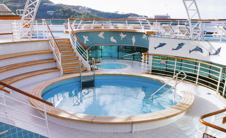 Sun Princess Riviera Deck