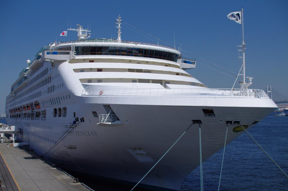 Sun Princess in port