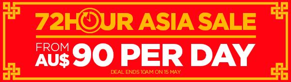 Royal Caribbean 72 hour Asia sale