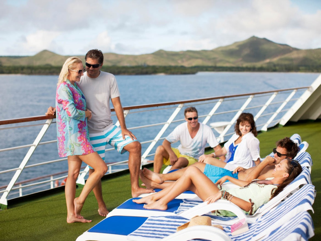 Pacific Dawn deck