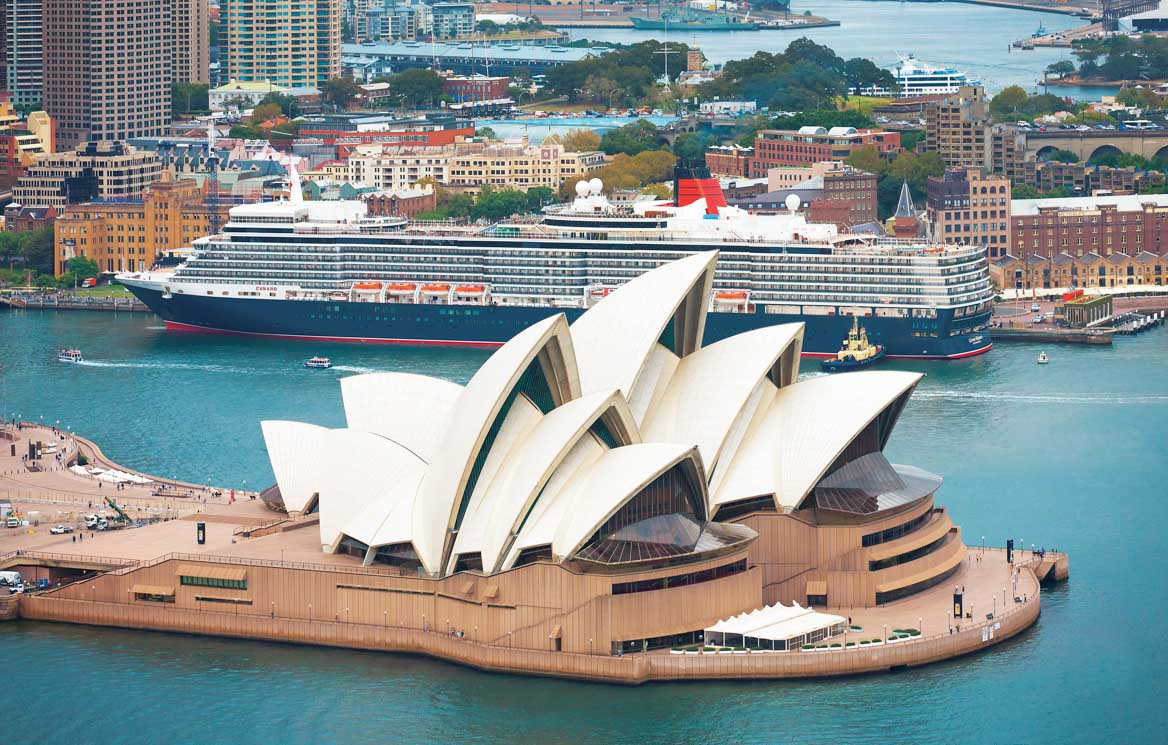 Queen Elizabeth in Sydney
