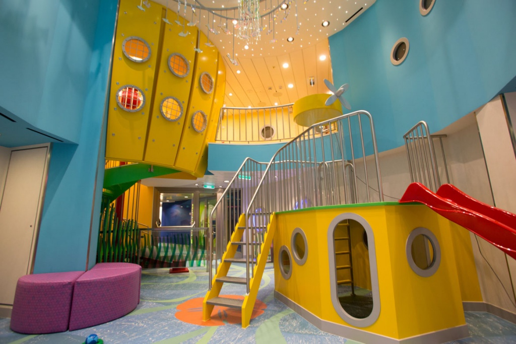 Quantum of the Seas Childrens play area