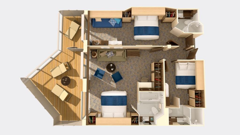 Quantum of the Seas Family Connected Junior suite