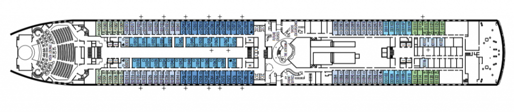 ms Oosterdam deck plans
