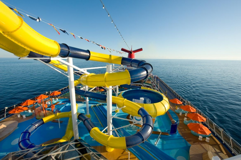 Carnival Dream Cruise Ship Slide