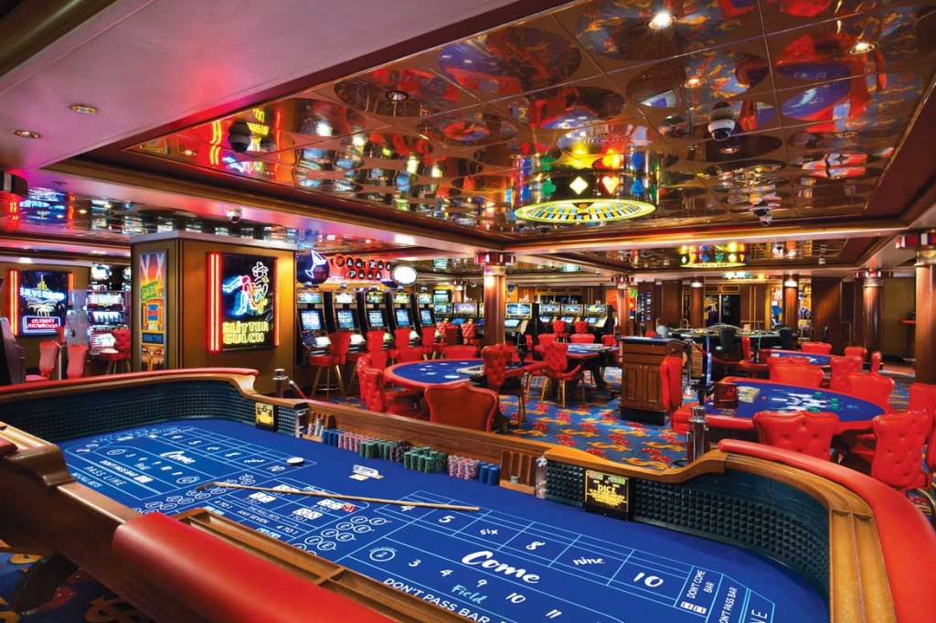 p&o cruise ship casino