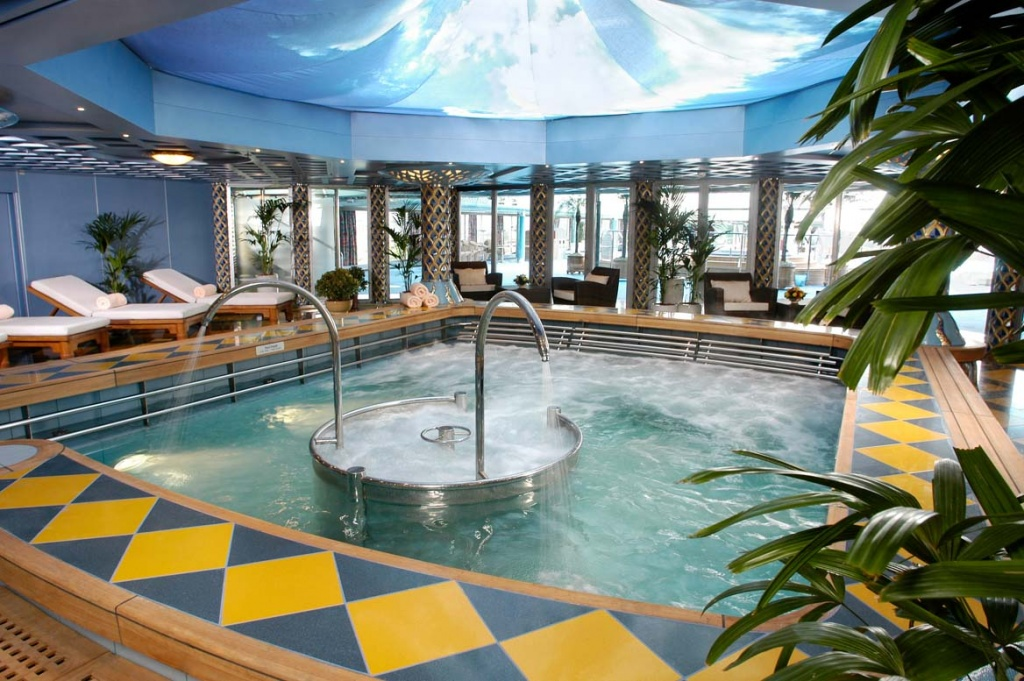 ms Oosterdam Hydro Pool