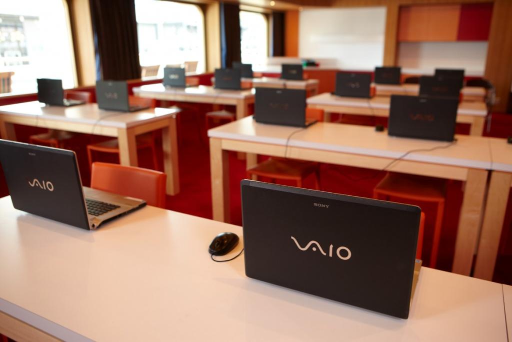 ms Oosterdam Internet Center