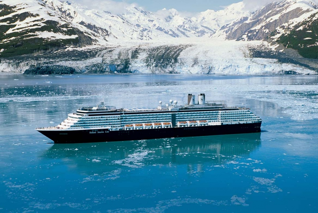 ms Oosterdam in Alaska