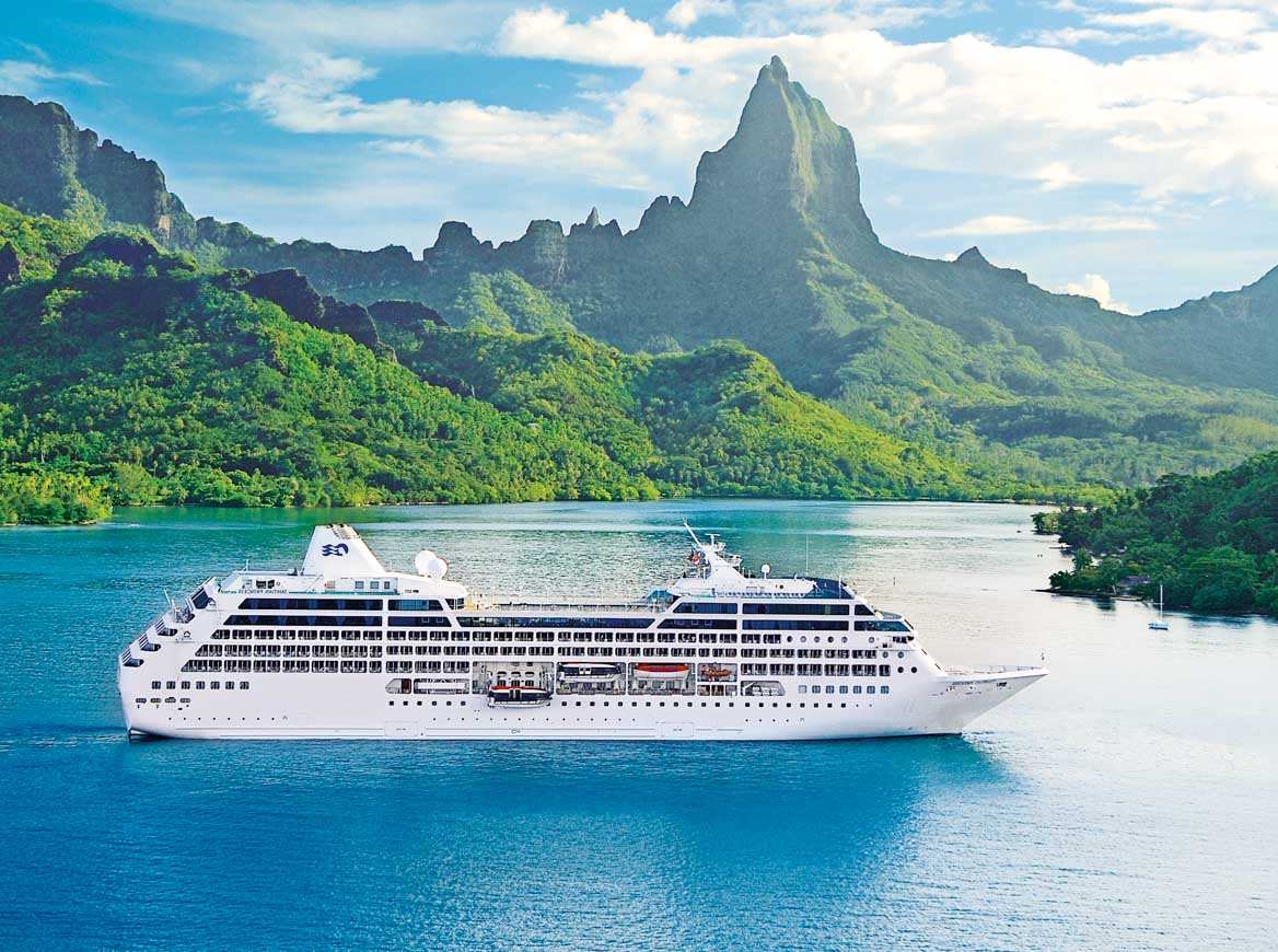 Ocean Princess in Moorea