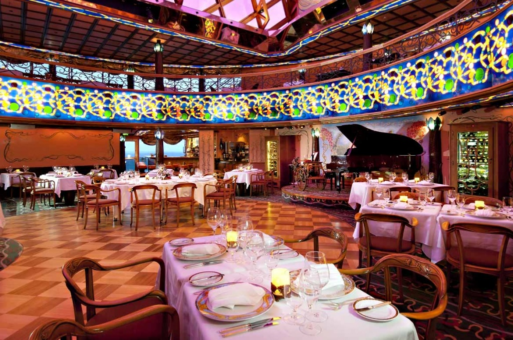 Carnival Spirit Nouveau steakhouse