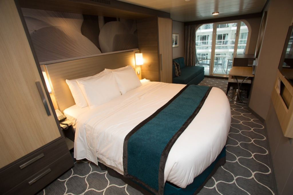 Harmony of the Seas Boardwalk View Stateroom