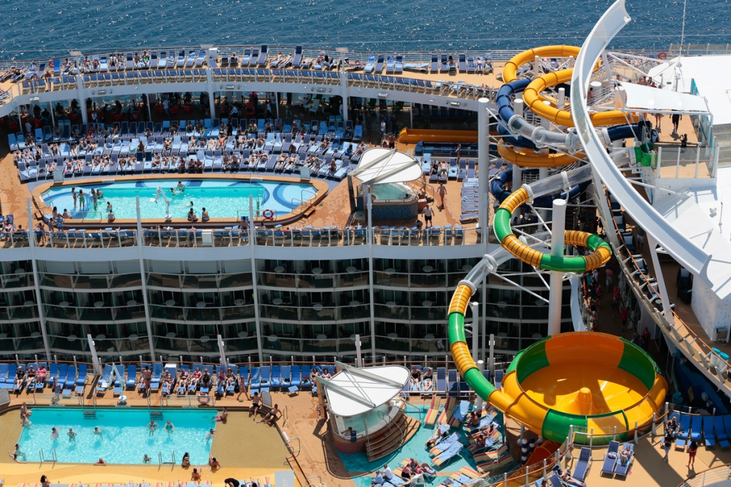 Harmony of the Seas aerial 4