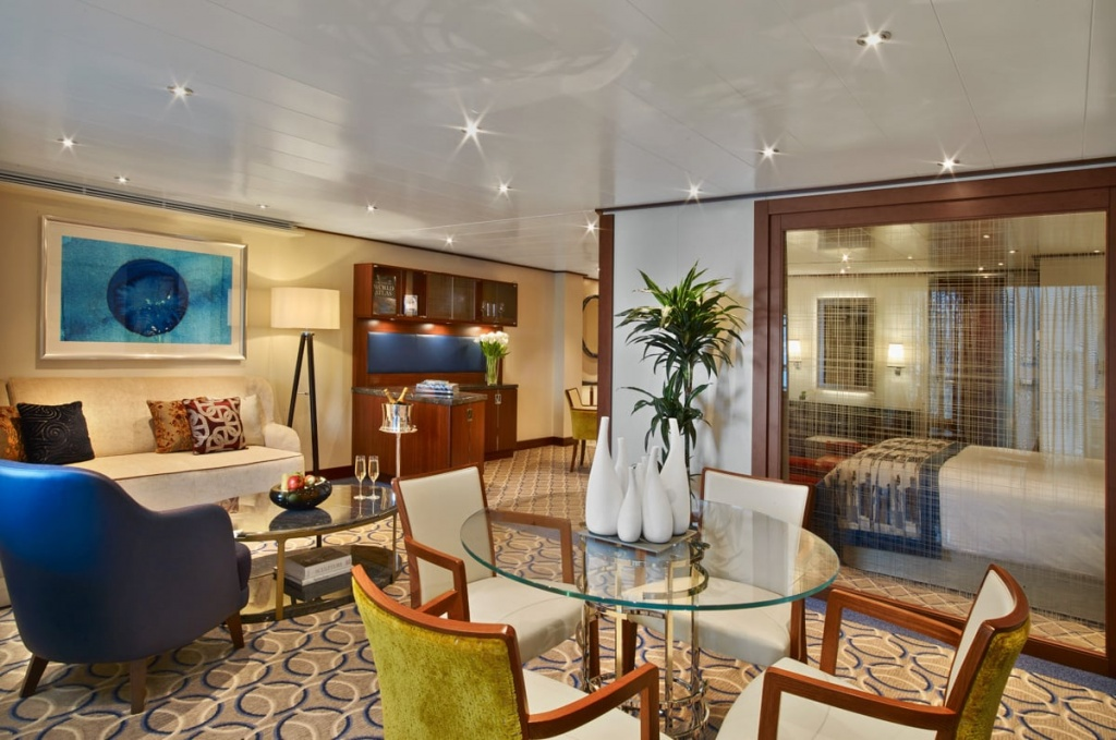 Seabourn Encore Owners Suite