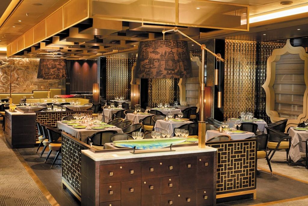 Seven Seas Explorer Pacific Rim restaurant
