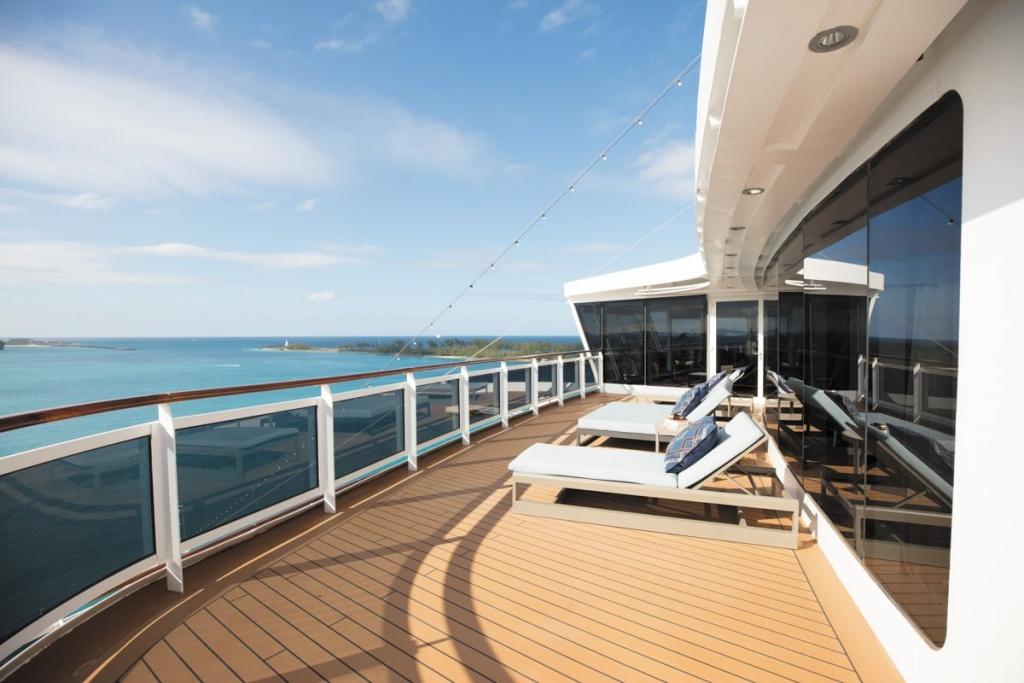 Seven Seas Explorer Regent Suite Balcony
