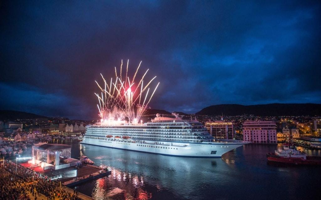 Viking Star Christening in Bergen Norway