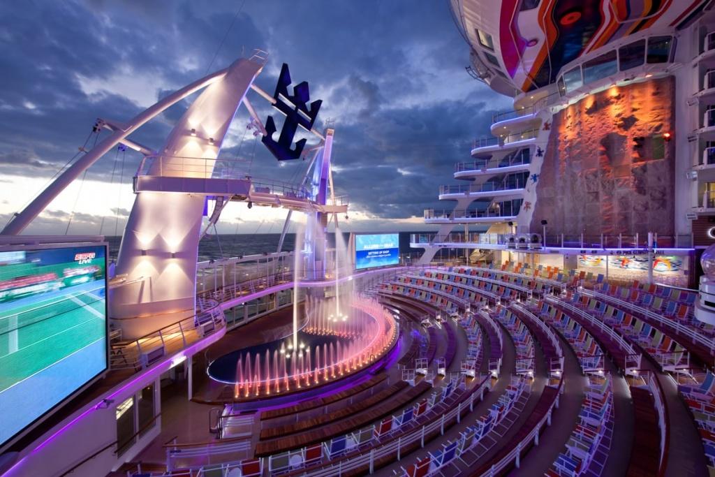 Allure of the Seas AquaTheater