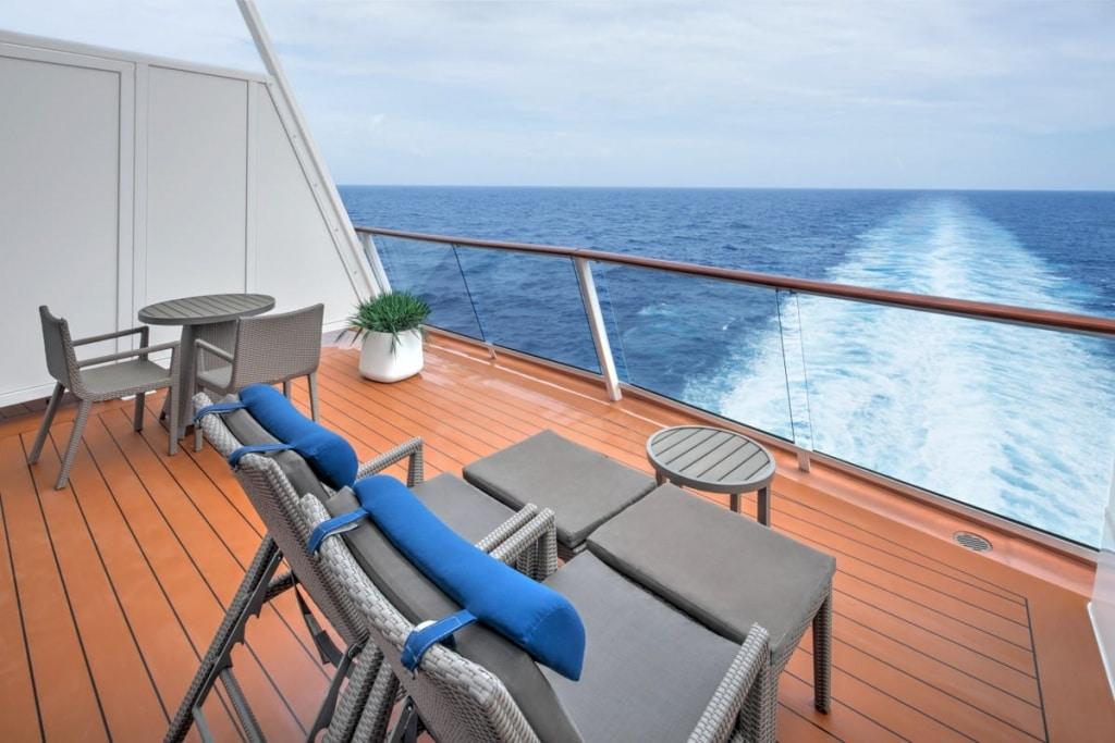 Allure of the Seas Grand Loft Suite balcony